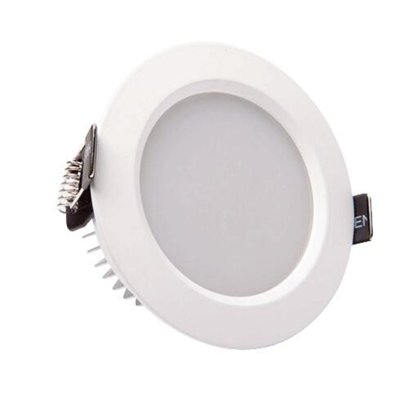 Free Shipping Dimmable 7W 10W Warm White White Cool White recessed led downlight AC85 265V CE ROHS LED Ceiling down light in Downlights from Lights Lighting