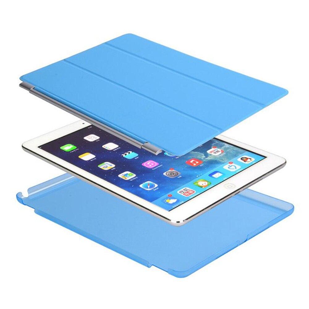 Apple iPad Hava Case PU Dəri Maqnetik Ön Ağıllı Qapaq + iPad Air - Planşet aksesuarları - Fotoqrafiya 4