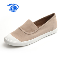 HUANQIU Spring Summer Autumn Women S Canvas Shoes Female Casual Flats Students Leisure Shoes New Woman