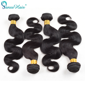 Panse Hair Vietnamese 100% Human Hair Weaving Body Wave Non-Remy Hair Products Customized 8-30 Inches Mixed Length 4pcs per lot