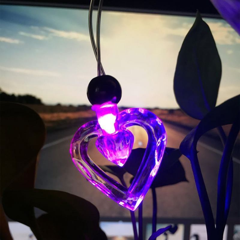 48pcs Flash led necklace LED light up toys decorations for wedding reception glowing party led pendant supplies with battery