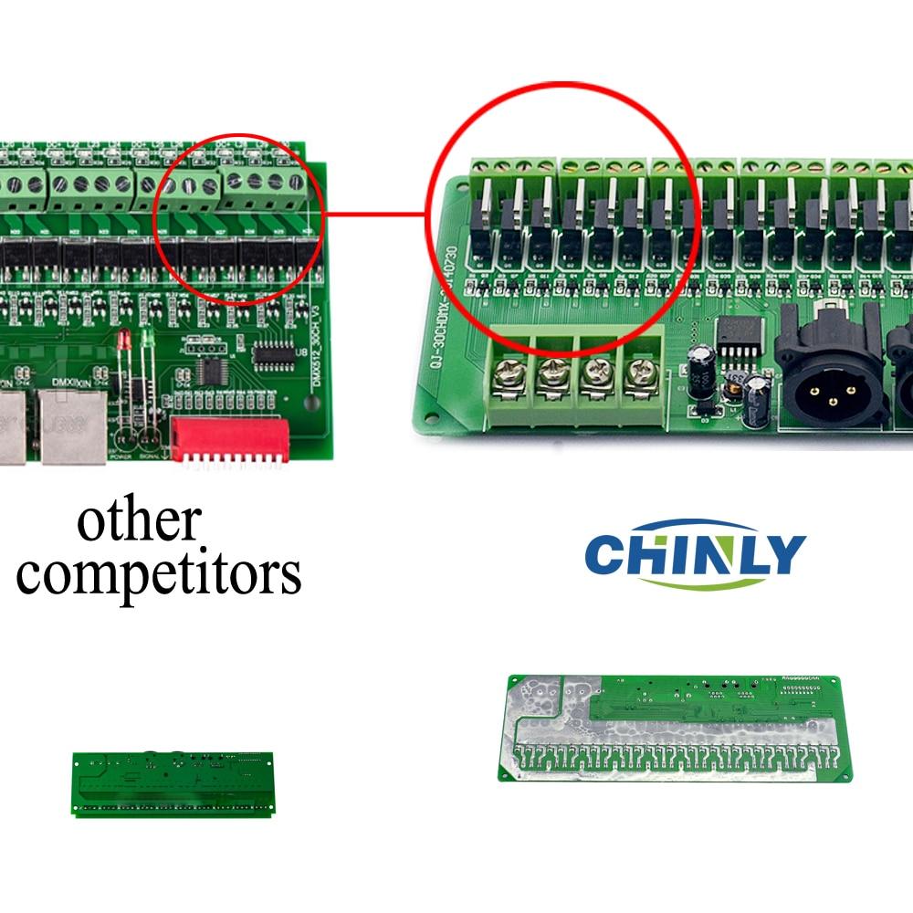 DMX декодер 30 канала RGB LED лентови - Аксесоари за осветление - Снимка 2