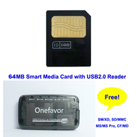 2019 Big Promotion Hot Sale 64MB Smart Media Card Smartmedia SM Memory Card 64M+ SM Memory Card Reader