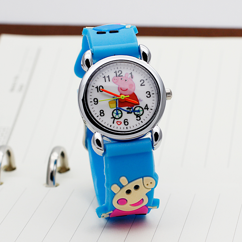 ot03 Brand Quartz Wrist Watch Baby Children watch hearts Kid Watches For Girls Boys Fashion Casual Reloj