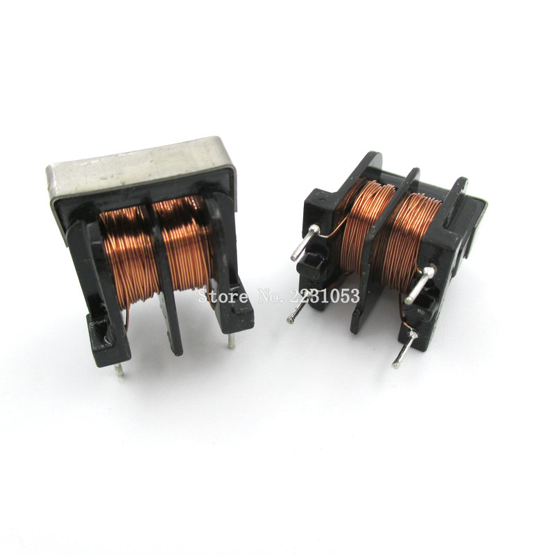 5PCS/LOT UU10.5 UF10.5 10mH 10MH Pitch 10*13mm Common Mode Choke Inductor For Filter Inductance Copper wire Common Inductors 50pcs lot 0410 1 2w color ring inductors 1mh 102k axial rf choke coil inductance dip