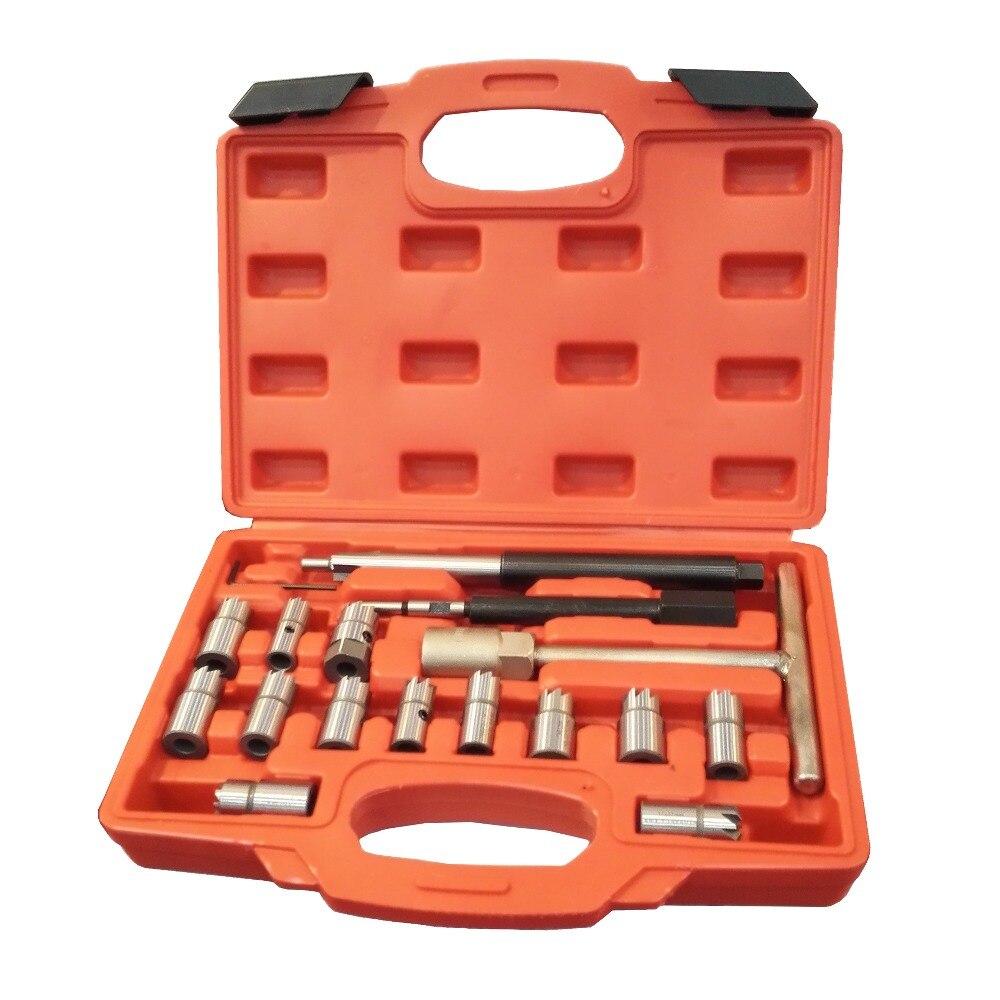 17 pièces kit de joint d'injecteur Diesel coupeur CDI outils spéciaux injecteur de siège d'injecteur