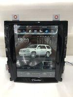 Вертикальный Экран 10,4 4 ядра Tesla 1024*768 Android Автомобильная dvd навигационная система Радио аудиоплеер для Cadillac Escalade Оперативная память 2 Гб