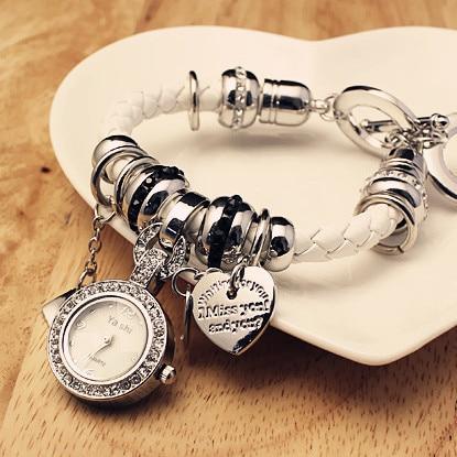 Bracelet Watches Women Dress Fashion Diamond Wristwat
