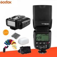 Godox TT600 2.4G Wireless Camera Flash Speedlite + X1T Transmitter Wireless Flash Trigger for Canon Nikon Fujifilm Olympus SONY