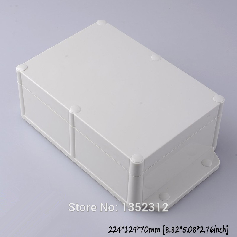 One pcs 224*129*70mm wall-mounted plastic enclosure junction box ip68 waterproof electronic box DIY plastic project control box