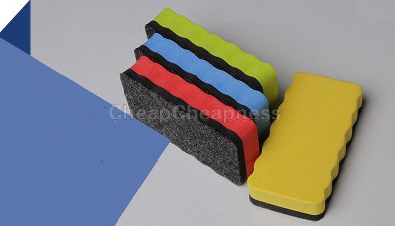 1Pcs Eraser Drywipe Marker Cleaner Magnetic Board School Office Whiteboard