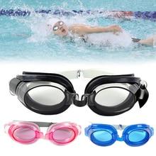 Профессиональные 3 в 1 плавательные очки, противотуманные очки для бассейна, унисекс, регулируемые очки, водонепроницаемые противотуманные очки