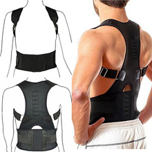 Hot Sale Adjustable Posture Support Brace Magnet Therapy Straps Back