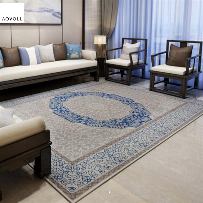 AOVOLL Classical European Style Soft Large Carpets For Living Room Bedroom Kid Room Rugs Home Carpet Floor Door Mat Area Rug Mat|Carpet| |  - title=