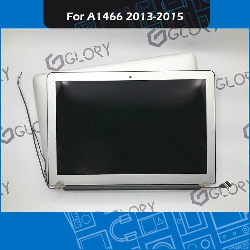 Натуральная A1466 ЖК дисплей Экран в сборе для Macbook Air 13 A1466 выполните Дисплей сборки 2013 2014 2015 года EMC 2632 2925