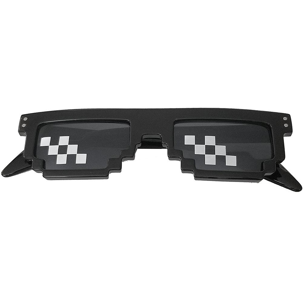 Home Appliance Parts Mosaic Sunglasses Trick Toy Thug Life Glasses Deal With It Glasses Pixel Women Men Black Mosaic Sunglasses Funny Toy Oct26 Home Appliances
