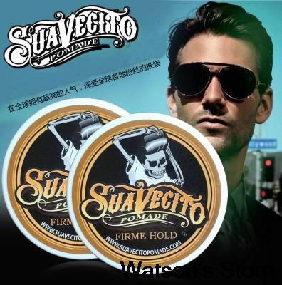 Skeleton-Cream Pomade Hair-Wax SUAVECITO Strong-Style Keep-Hair No-Original Oil Oil-Mud