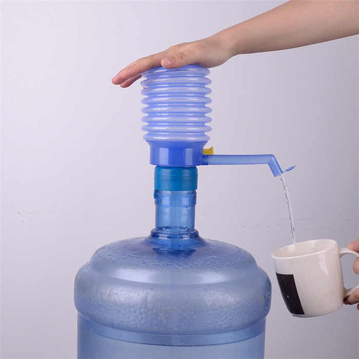 Useful Home Articles Drinking Water Hand Pump For Bottled: 1PC New Water Hand Pump Bottled Drinking Water Hand Press
