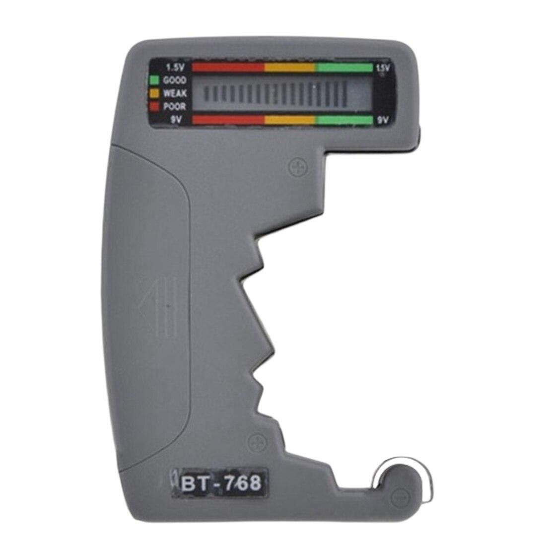 Лучшая емкость Вольт проверки Универсальный ЖК-цифровой тестер батареи для тестирования 9V 1,5 V C AA AAA D щелочные аккумуляторные батареи