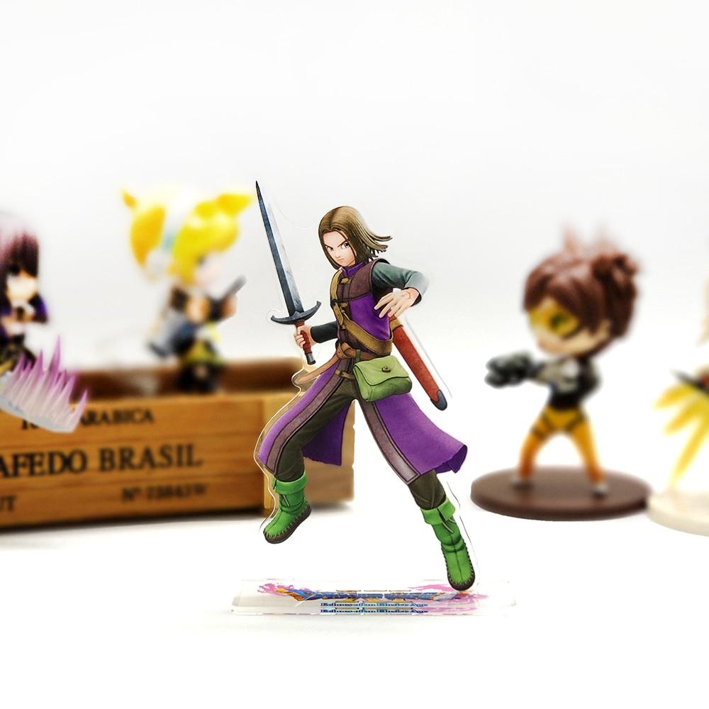 Love Thank You Doragon Kuesuto Dragon Quest XI DQ11 Eleven Acrylic Stand Figure Model Plate Holder Cake Topper Anime Cool