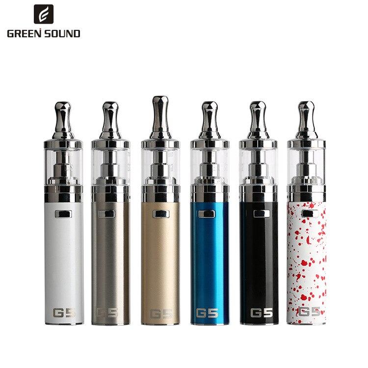 Originale GreenSound GS G5 Starter Kit Sigaretta Elettronica 2200 mah Batteria Mod 4 ml All-in-One Serbatoio atomizzatore Vape Penna Vaporizzatore