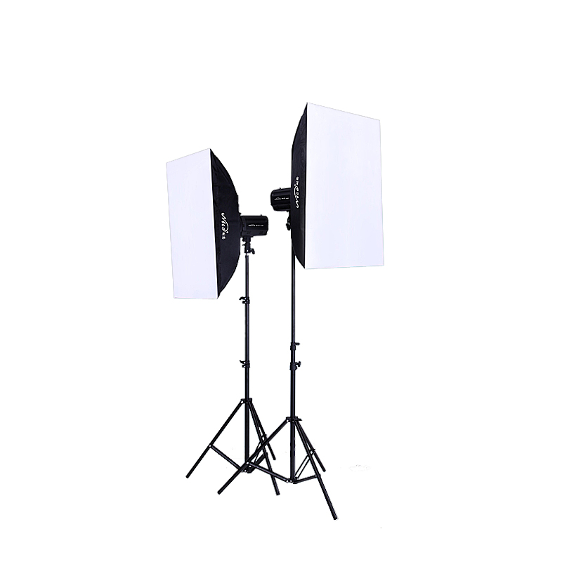 NiceFoto studio lights photography light photographic equipment 230w flash lamp soft light series set ge-230 photographic lighting led film light nicefoto mf 2000f video photo studio flash light lamp power 200w 5500k with dc ac input