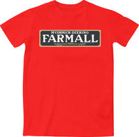 Farmall McCormick Deering Vintage Tractor Machinery Farm Equipment New T Shirt 100% cotton tee shirt, tops wholesale tee