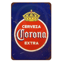 Cerveza Extra Vintage Tin Signs Retro Metal Plate Painting Wall Decoration for Bar Home Club Pub and So on 30CM*20CM