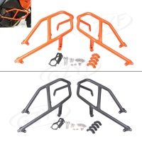 Motorcycle Front Lower Engine Frame Guard Crash Bar Protector For KTM 1290 1199 1050 2013 2014