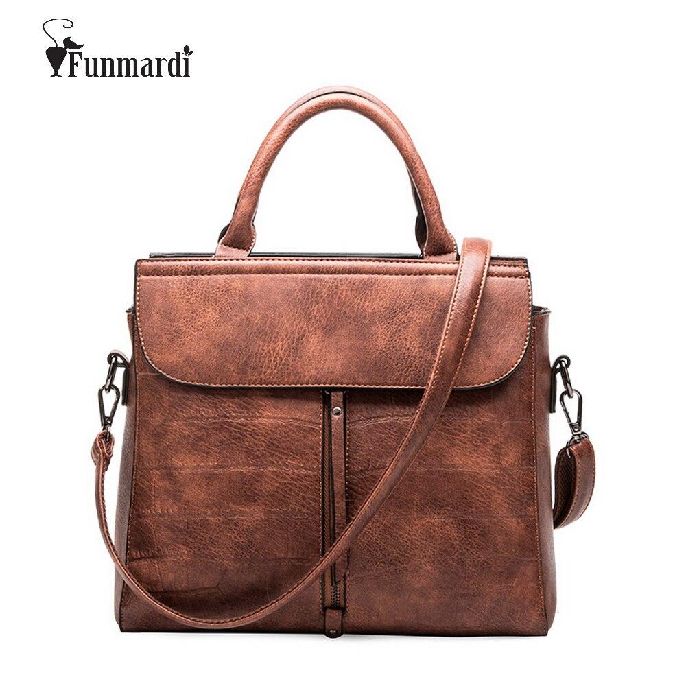 ᗕVente chaude brand design PU Cuir femmes sacs vintage de luxe en ... 70b13a82e68
