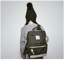 Япония школьные рюкзаки для девочек-подростков милые девушки школьный рюкзак для школы колледжа сумка для женщин Анелло кольцо рюкзак
