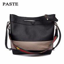 TOP quality Brand Designer 2017 Women's Genuine Leather Vintage Single Shoulder Bag Women Crossbody Bags Handbags For Ladies