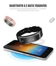 Новые Сенсорный экран I8 Смарт часы браслет артериального давления сердечного ритма Мониторы шагомер Фитнес умный Браслет PK miband2