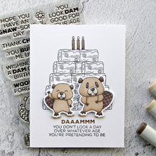AZSG Sincere Blessings Lovely Bears Clear Stamps/Seals For DIY Scrapbooking/Card Making/Album Decorative Silicone Stamp Crafts