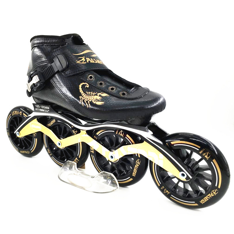 902e0fc23cf Pasendi koolstofvezel professionele schaatsen schoenen vrouwen/mannen  inline skates racing schoenen volwassen kind schaatsen patines soy luna in  Pasendi ...