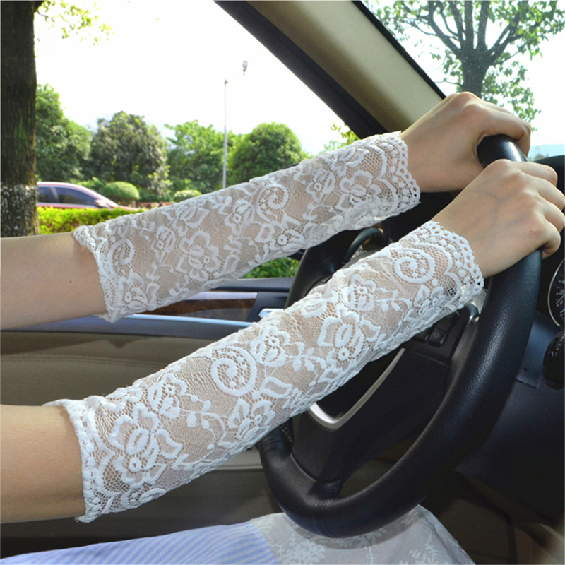Lace Sleeve  Gloves  Uv Summer Men   Gloves  Arm Cover Women  Arm Sleeves For Sun Protection  Adult I'm Sorry That There Will