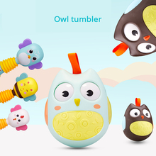Купить с кэшбэком Tumbler Music Bed Bell Sensory Training Rattles Educational Toys Baby Toys 0-12 Months Toys For Newborns Mobile For Baby Cot