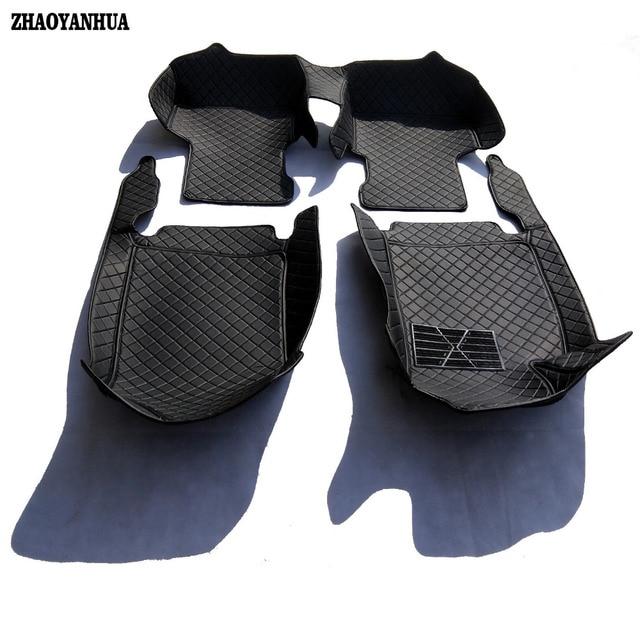 Genuine Original ZHAOYANHUA Custom Fit Car Floor Mats For Honda Civic Car  Styling Rug Carpet Case