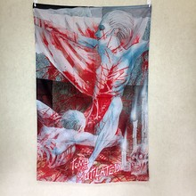 Cannibal Corpse Large music festival Party background decoration poster banner hanging painting cloth art 56X36 inches(China)