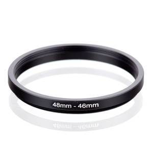 RING-FILTER-ADAPTER 46-Step-Down RISE Black To UK 48 48-46-Mm