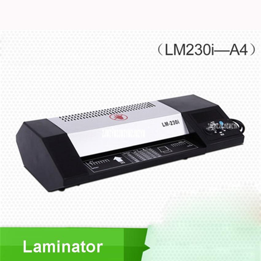 1pc LM230i A4 photo laminator laminating machine laminating machine, plastic card Four axis thermostat metal shell 220V/50HZ