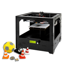 Dual Extruder Cloud 3D Printer DIY KIT LCD 2004 GT2560 Main Board 230x150x150mm ABS/PLA/Flexible PLA/ Nylon/Wood-Polymer