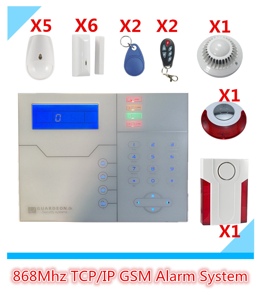 Advanced TCP/IP Alarm System GSM Alarm System Security Home Alarm System GPRS Alarm System With WebIE PC and App Control biometric face and fingerprint access controller tcp ip zk multibio700 facial time attendance and door security control system