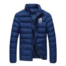 Cotton Coat Winter Parka Men Jacket Thick Stand Collar Parka Winter Jackets Warm Korean Veste Homme Hiver Sport Mens Coats MF13