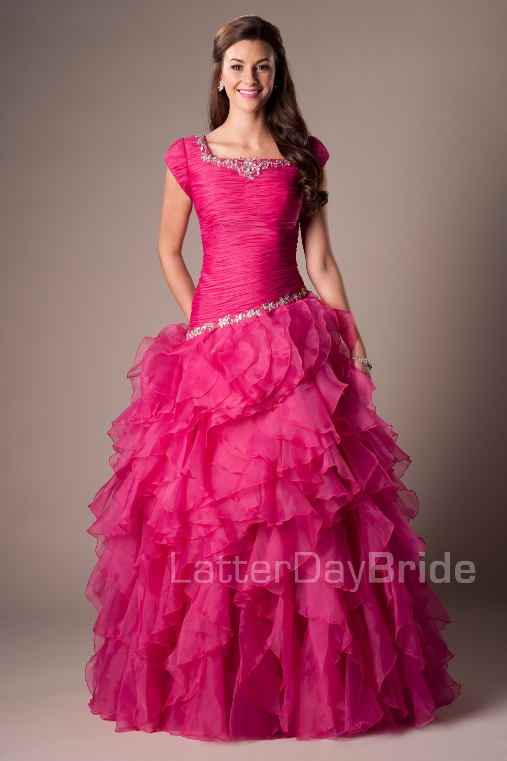 Popular Fuchsia Ball Gowns-Buy Cheap Fuchsia Ball Gowns lots from ...