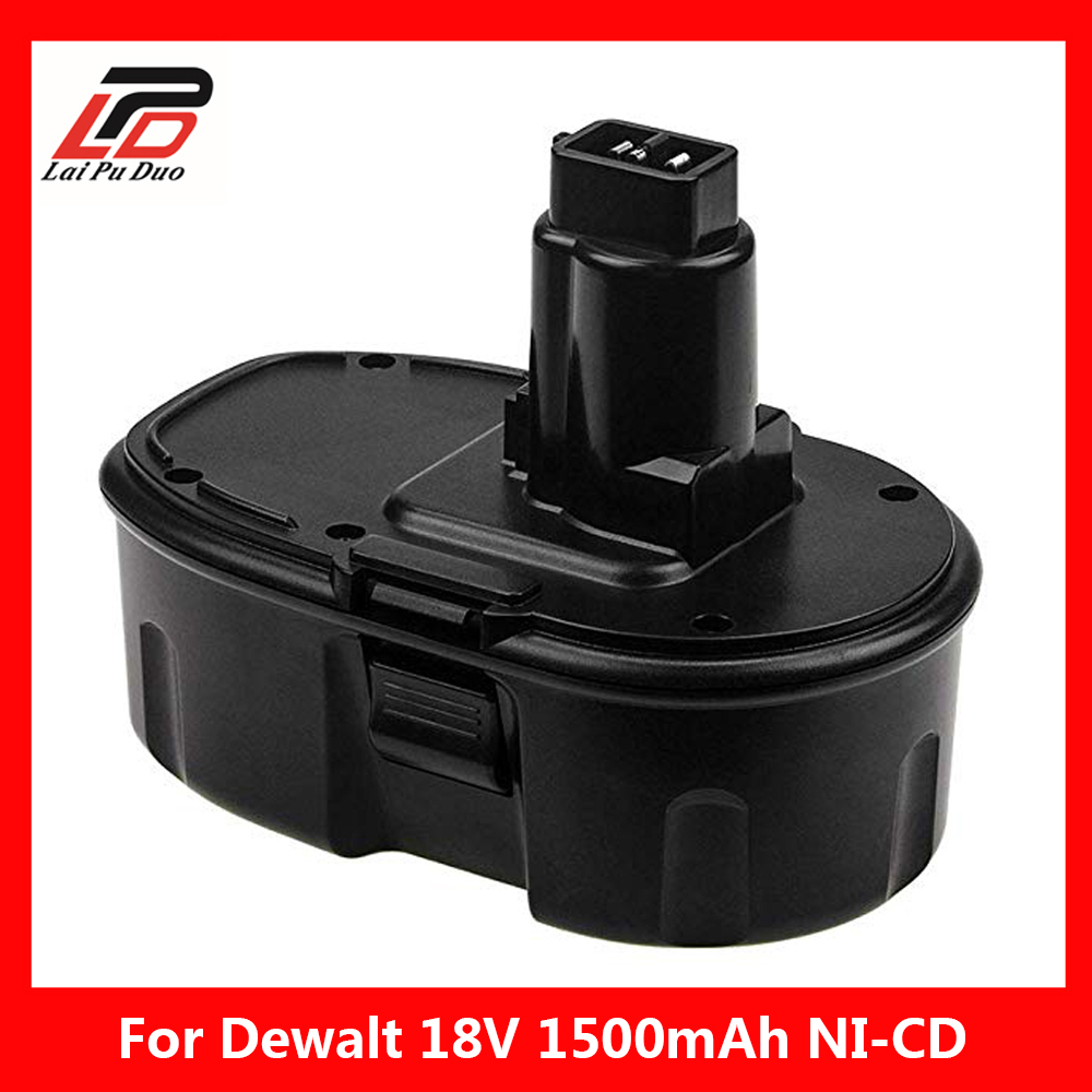 1500mAh 18V DC9096 Ni-CD Rechargeable Battery for Dewalt DE9039 DE9095 DE9096 DC020 DC212 DC212B DE9039 DE9098 DE9095 DE9096 цены онлайн