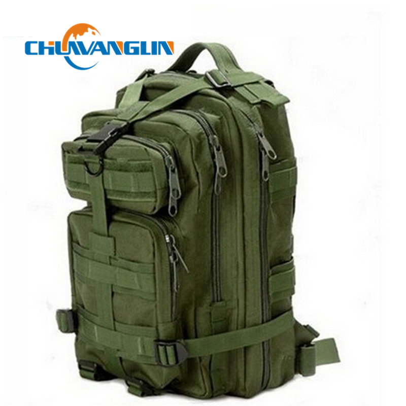 Chuwangling Men Women  Military Army  Canvas Backpack  Large Capacity Backpack 9 Color Travel Bags  Qg0784