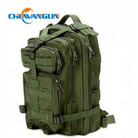QG0784 2015 Men Women Outdoor Military Army Tactical Canvas Backpack Camping Hiking Trekking Sport Bag Large