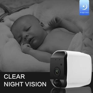 Image 4 - אבטחה אלחוטית מצלמה, 1080P WiFi סוללה מצלמה עם דו כיוונית אודיו, IR ראיית לילה, PIR חיישן תנועה, פנימי/חיצוני
