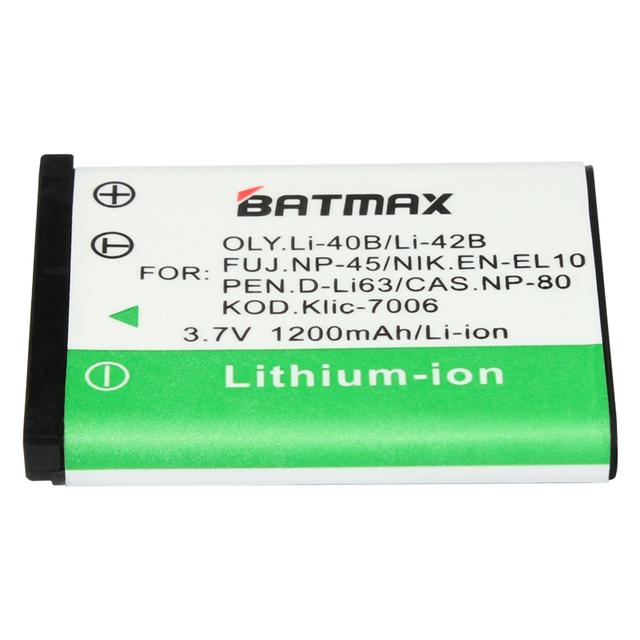 1 Pc Li-42B Li 42B Li42B Li-40B Rechargeable Battery for OLYMPUS U700 U710 FE230 FE340 FE290 FE360 U1040 X915 VR320 VR330 FE5000